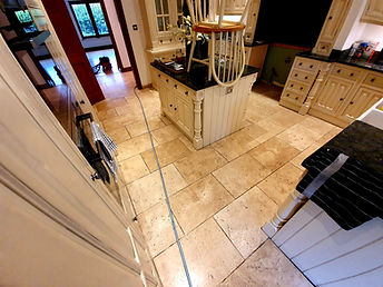 Travertine Tile Floor Cleaning Essex