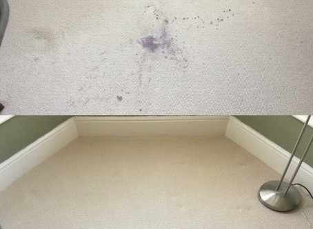 Red Wine Stains on Carpets