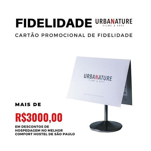 Cartão fidelidade Clube Urbanature