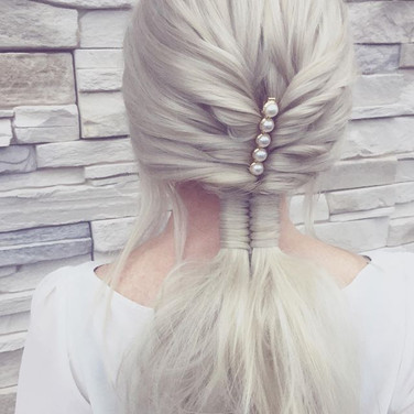 Romantický culík na svatbu 👸🏼 Hair by