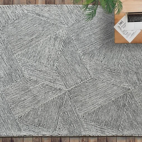 Hand Tufted Clicker Rug