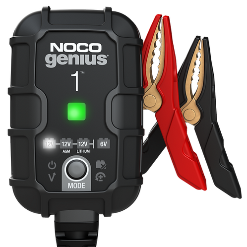 NOCO Genius 1 Battery Charger + Maintainer
