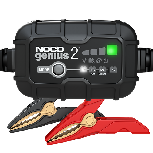 NOCO Genius 2 Battery Charger + Maintainer