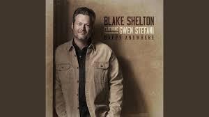 Anywhere by Blake Shelton (feat Gwen Stefani) Cover Art