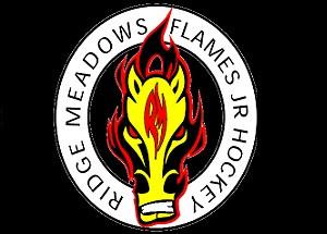 Ridge Meadow Flames Logo