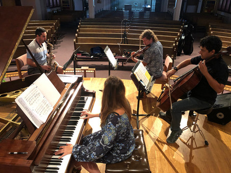 "Rehearsing ""Unchained"" in Lansing, MI"