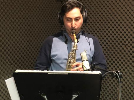 Recording at TNT Studio