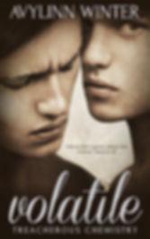 Volatile Treacherous Chemistry series Pride Publishing Avylinn Winter romance LGBT novel