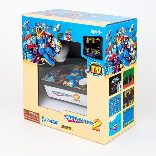 Megaman 2 Plug N' Play Retro TV Arcade