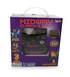 Midway Classics Plug N Play 3-in-1