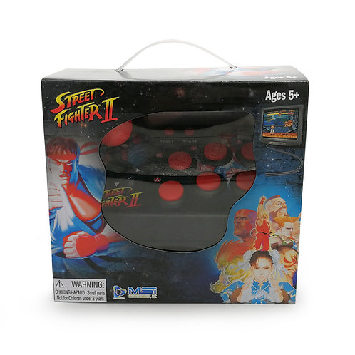 Street Fighter Plug N' Play TV Arcade