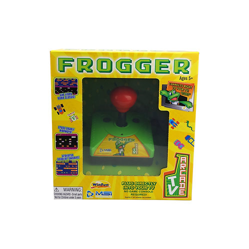 Frogger Plug N' Play Retro TV Arcade