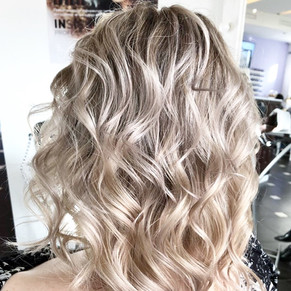 Окрашивание блондинок