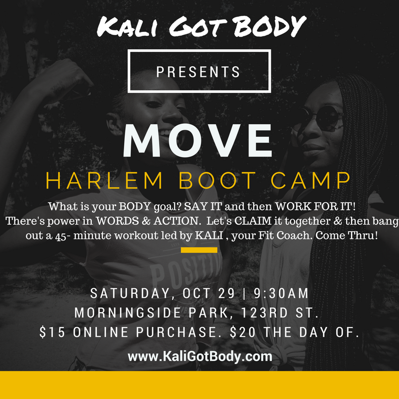 MOVE Boot Camp in Harlem