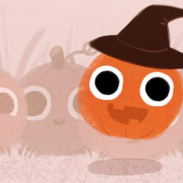 Jumping Pumpkin
