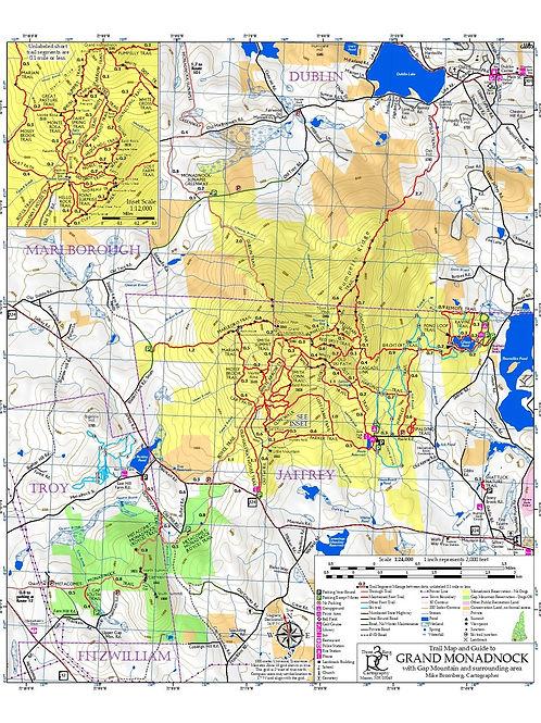 Monadnock Map