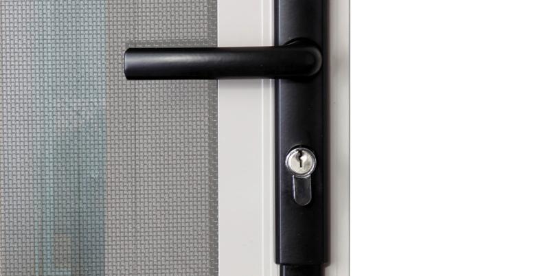 Austral Elegance Push2Go Hinge Door Lock - (Key barrel not inc.)