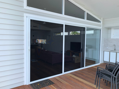 Invisi-Gard Stacker Doors
