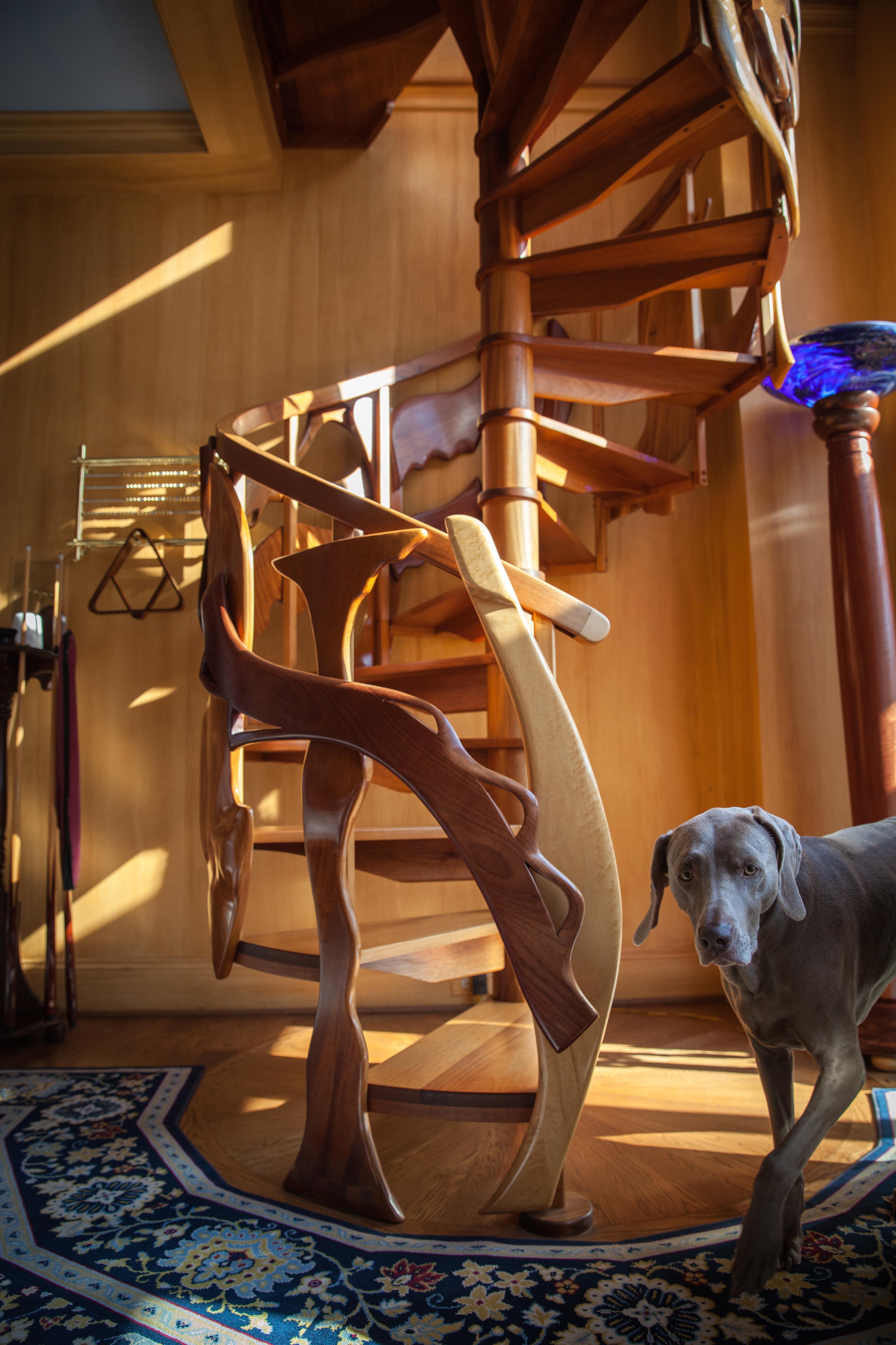 Custom Spiral Staircase
