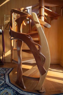 Custom Spiral Staircase Detail