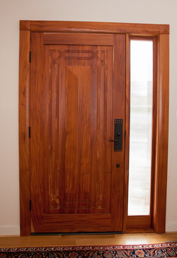 Custom Front Door (interior)