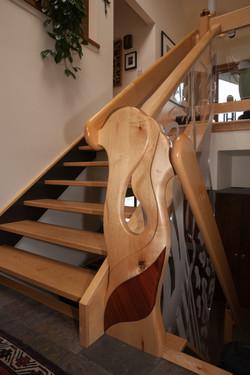 Custom Stair Sculpture