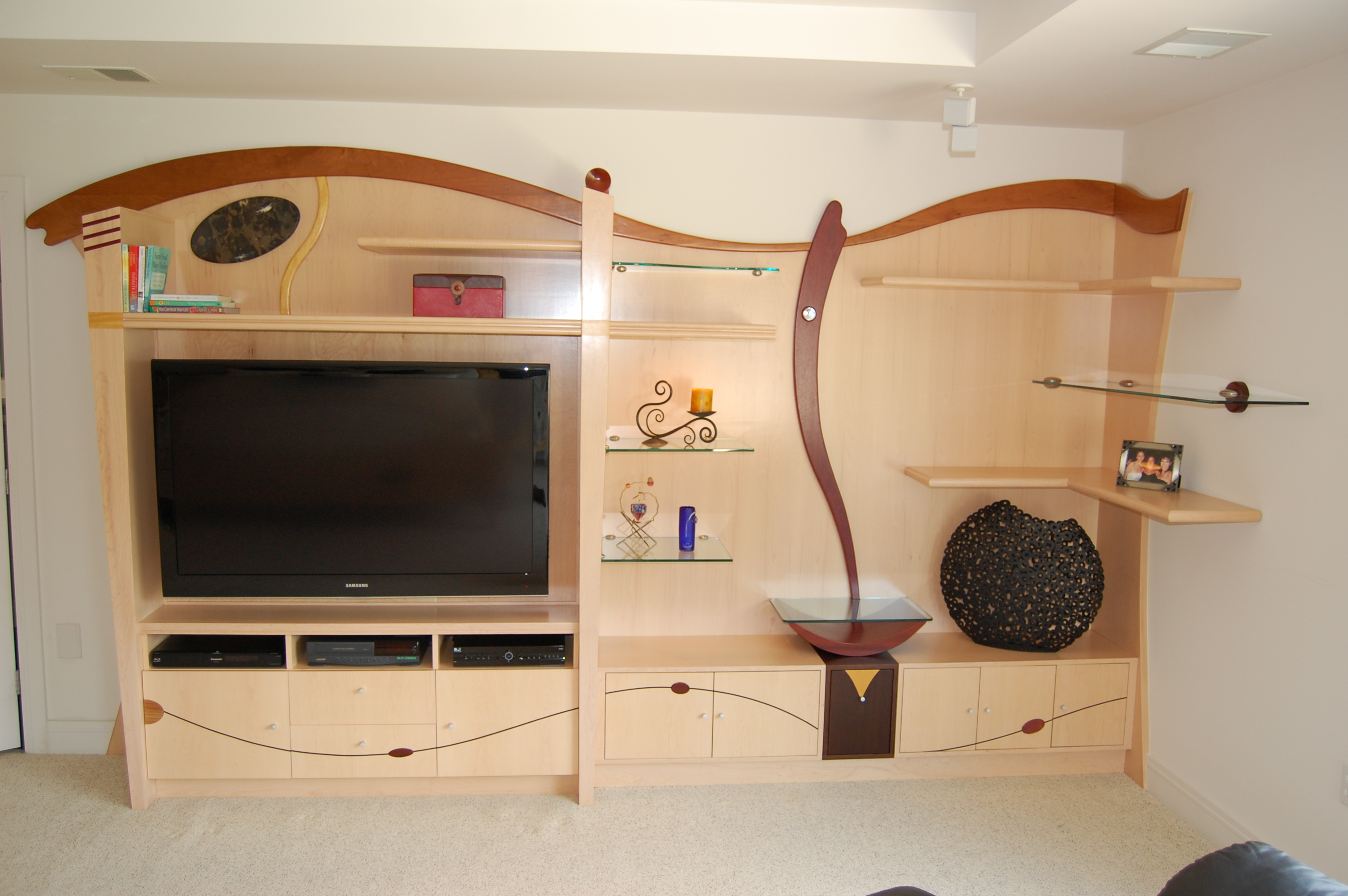 Custom Entertainment Unit
