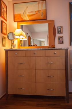 Custom Dresser & Mirror
