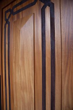 Custom Front Door Detail