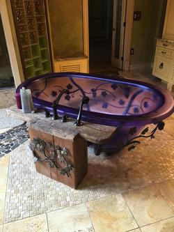 Custom Floor and Tub