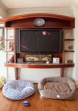 Custom TV Nook