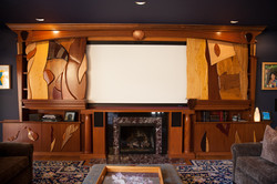 Custom TV Enclosure (open)