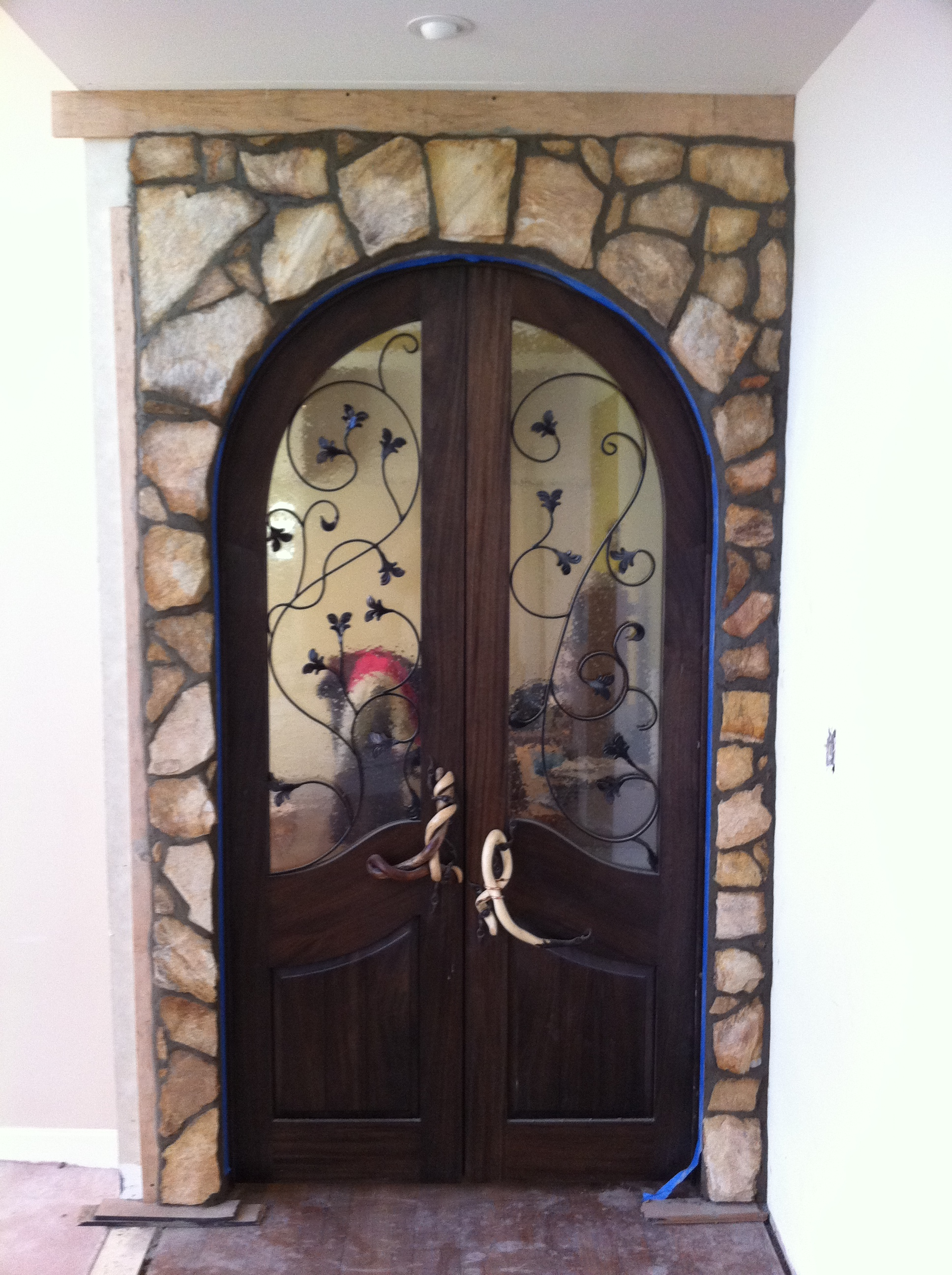 Custom Library Door