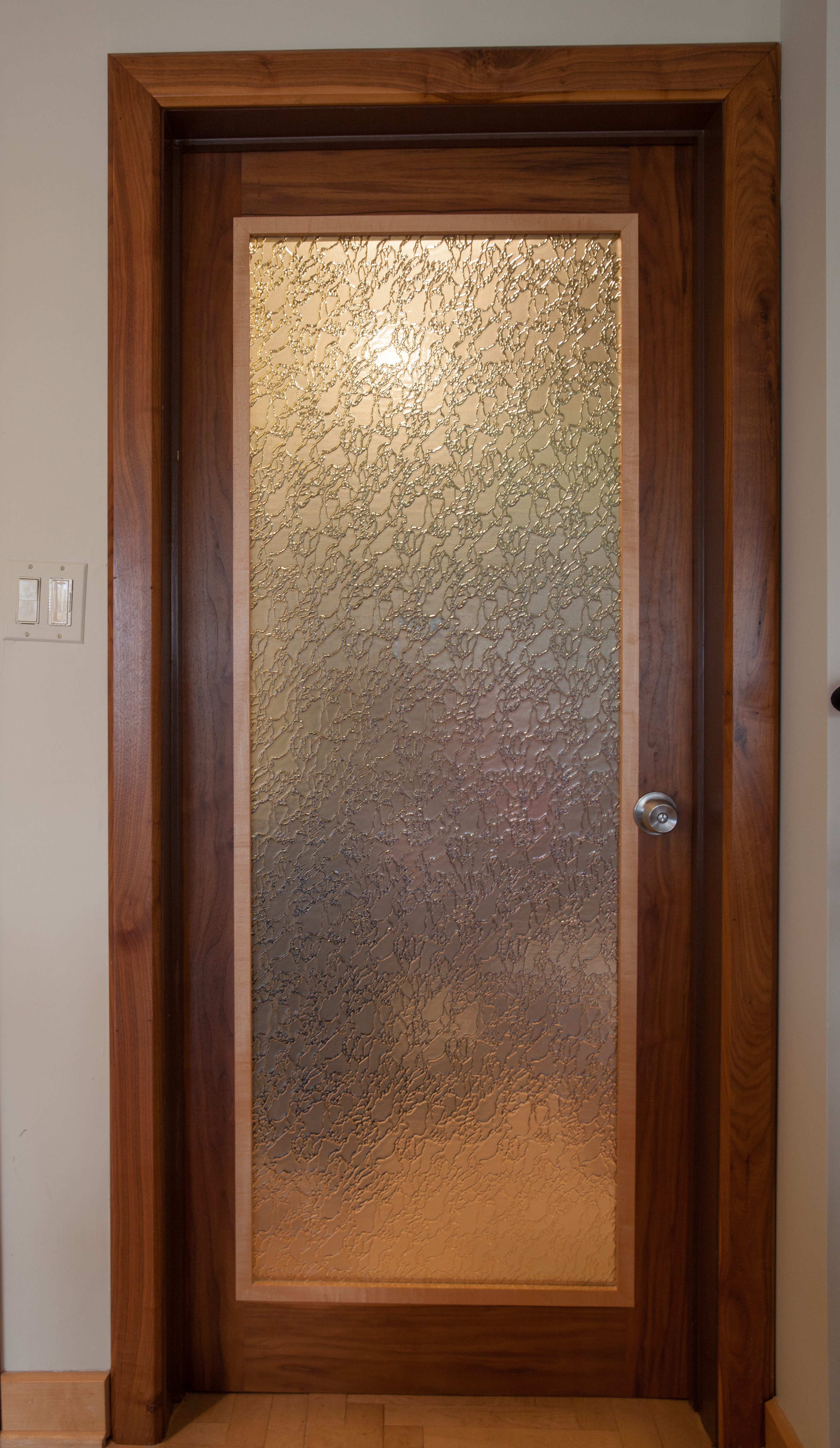 Custom Office Door