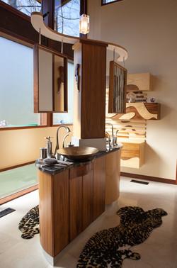 Custom Yin Yang Bathroom Vanity