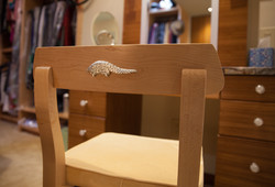 Vanity Chair Detail