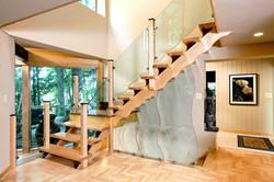 Custom Floor and Staircase