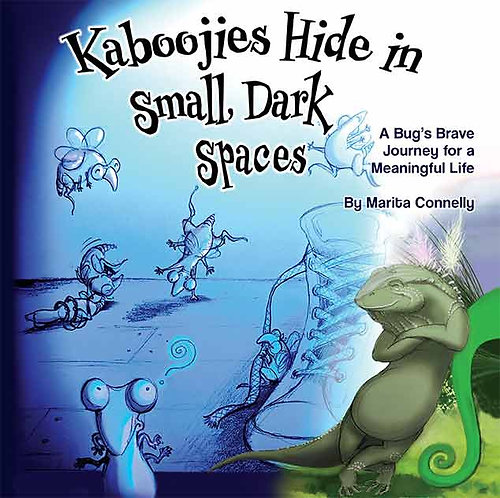 Kaboojies Hide in Small, Dark Spaces Children's Book Cover