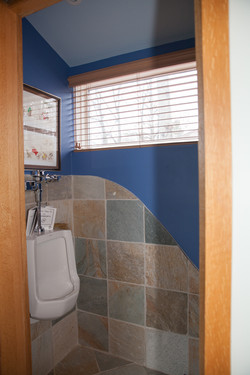 Custom Urinal & Tile