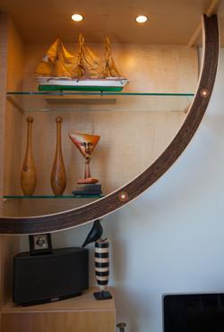 Custom Curved Shelf