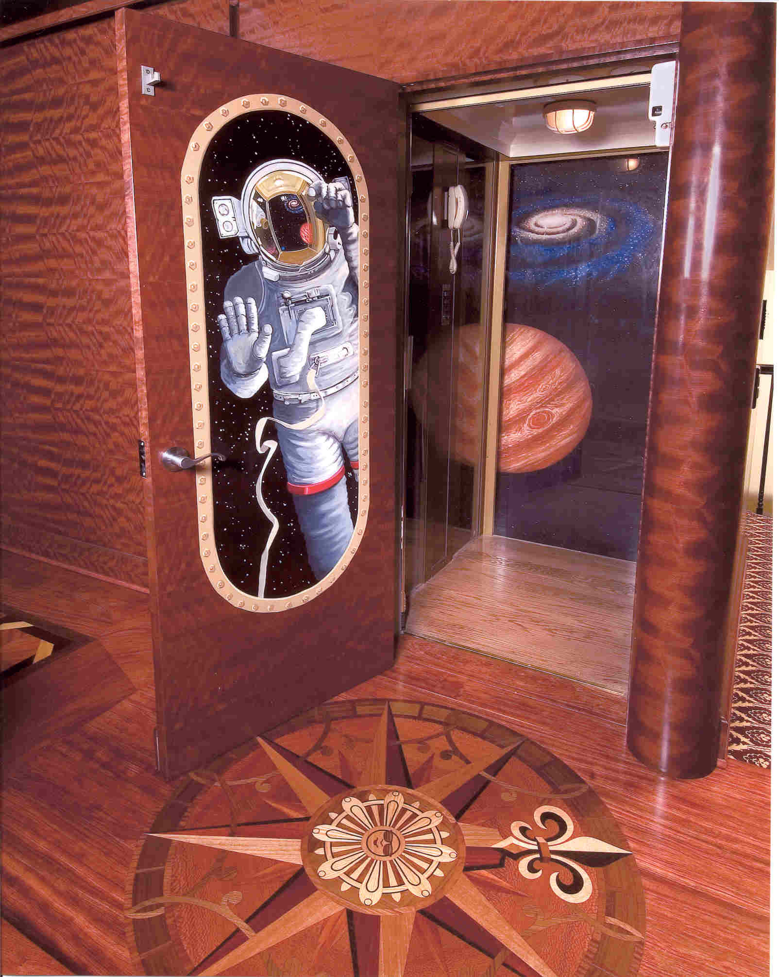 Custom Elevator Door