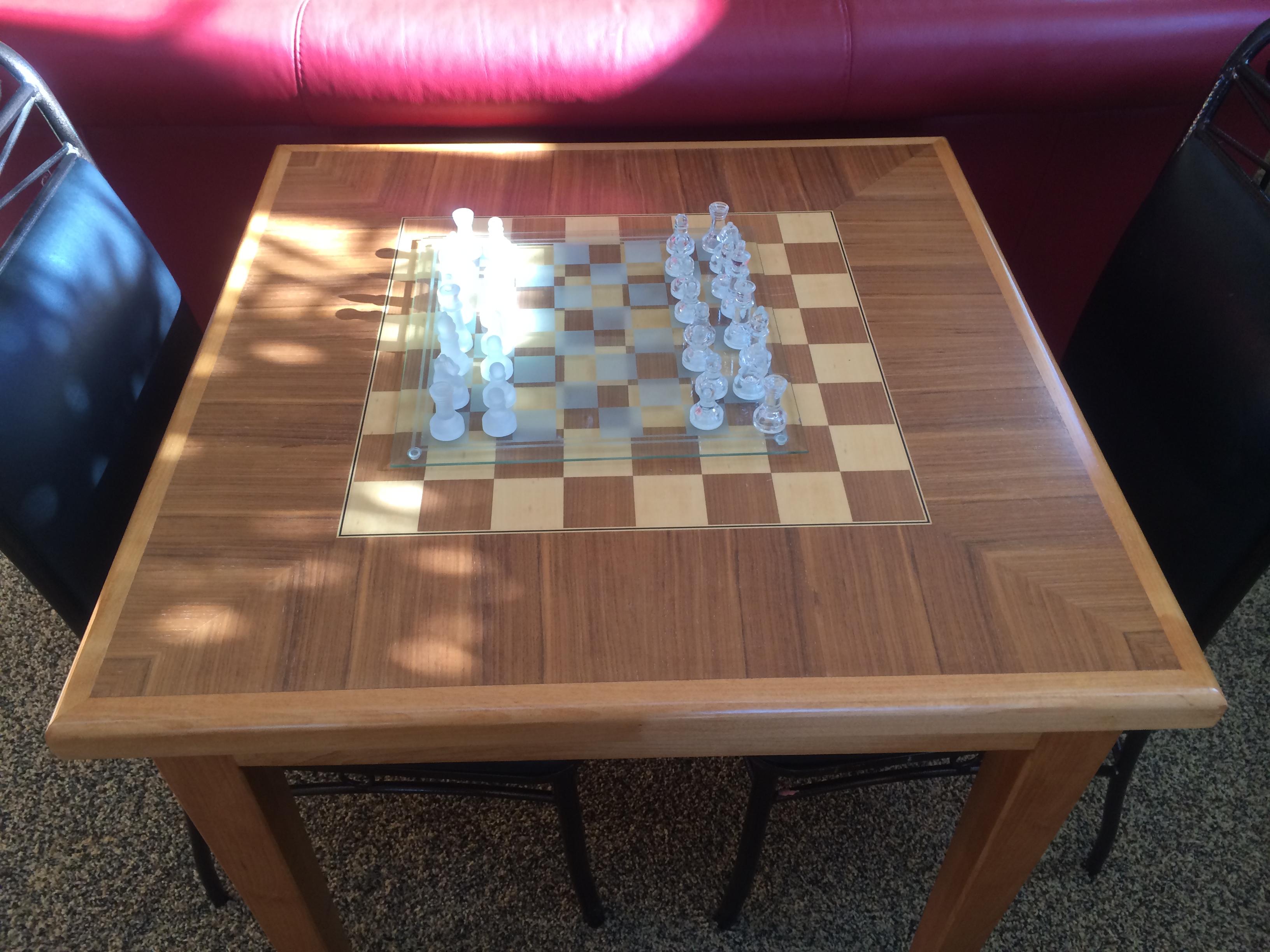 Custom Chess Table