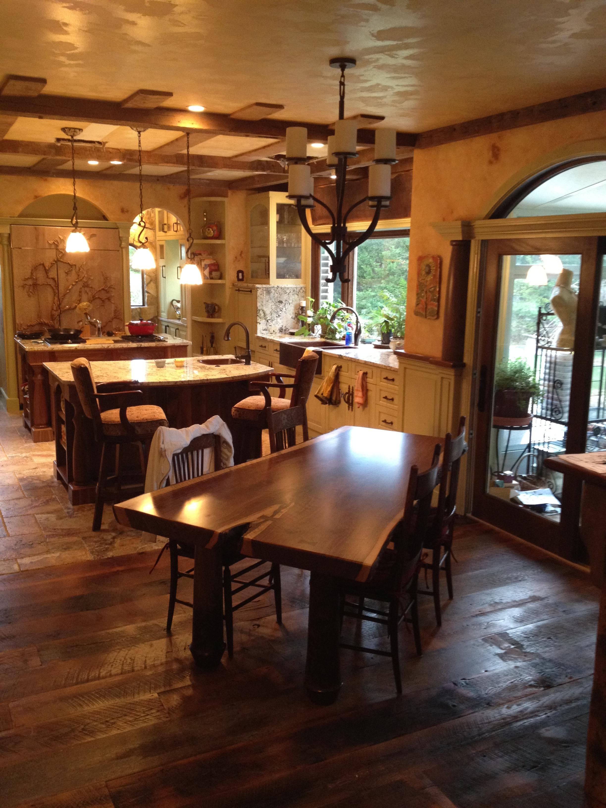 Custom Kitchen Table