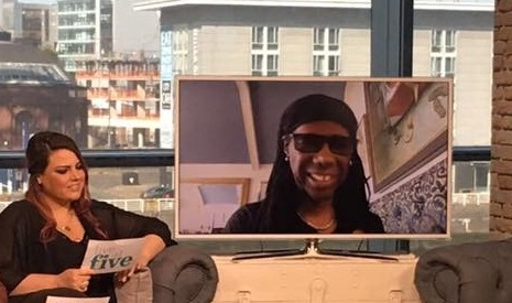 """Live """"Chic"""" Interview - Nile Rogers"""