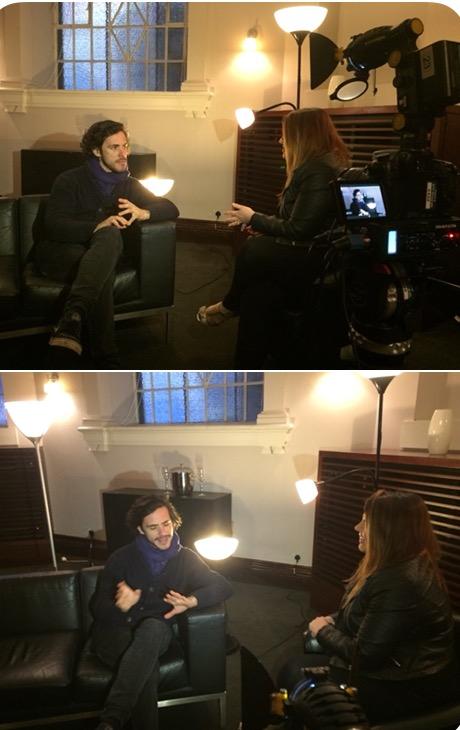 Interviewing Jack Savoretti at the U