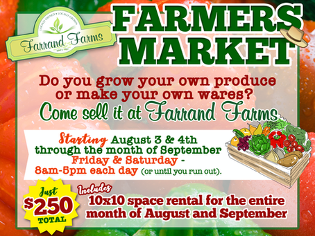 Farrand's Farmers Market is Back