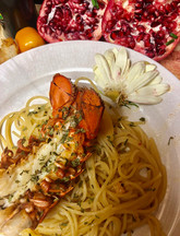 Old Bay Lobster + White Wine Pasta