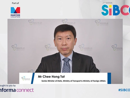 SIBCON 2020: Senior Minister highlights 'quality resilience and sustainability' for bunkering sector