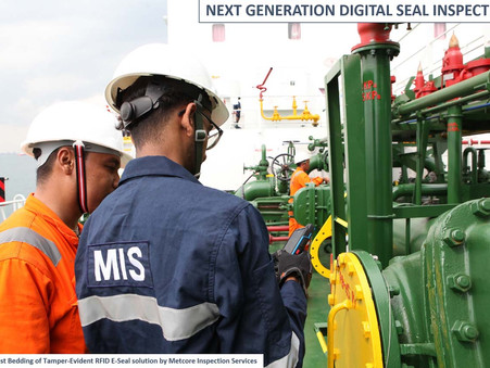 Singapore: Metcore developing digital enhancements for MFM bunker ops