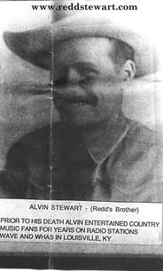 Alvin Stewart - Redd's brother